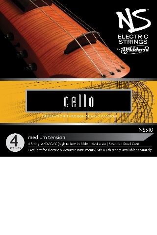 NS510 STRING SET FOR ELECTRIC CELLO