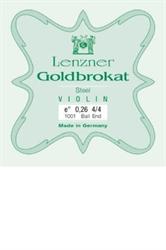 String set Goldbrokat for electric violin