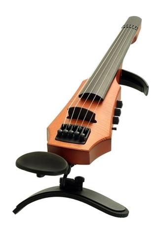 Εικόνα της Ηλεκτρικό Βιολί Βιογραφικό NS Design CR 5 Σατινέ Κεχριμπάρι