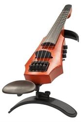 Obrázek pro výrobce Elektrické housle NS Design CR 5 Amber - pražcovaný hmatník