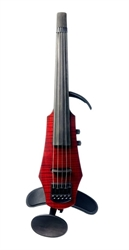 Elektrische Violine NS Design WAV5 TRANSPARENT RED