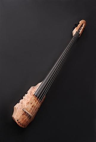 Electric Cello NS Design CR 5 Cello Poplar Burl Top