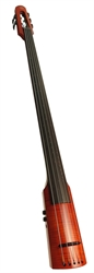 Electric Double Bass NS Design WAV5 Amber Burst