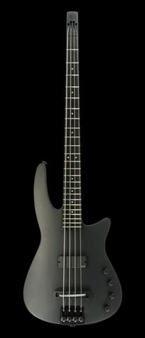 Electric Bass Guitar WAV4 Radius Matte Black