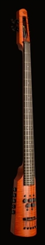 Electric Omni Bass NS Design CR5 Amber Fretted