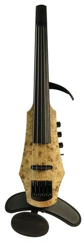 Εικόνα της Ηλεκτρικό Βιολί Βιομηχανική Σχεδίαση CR 5 Poplar Burl Top