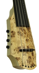 Electric Cello NS Design CR 6 Cello Poplar Burl Top