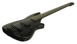 Electric Bass Guitar WAV5 Radius Matte Black