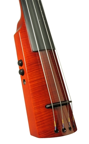 Electric Double Bass NS Design WAV4c Amber Burst (Coform)