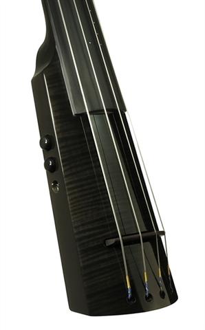 Electric Double Bass NS Design WAV4c Trans Black (Coform)