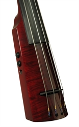 Electric Double Bass NS Design WAV4c Trans Red (Coform)