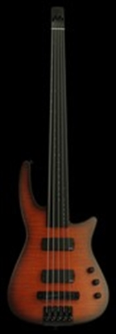 NS NXT5a RADIUS BASS GUITAR SATIN SUNBURST - FRETLESS NECK